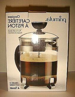 NIB PRIMULA Classic Coffee Press 4 Cup For French & American