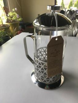 NWT Brandani Italian  French Press Coffee Maker Home Kitchen