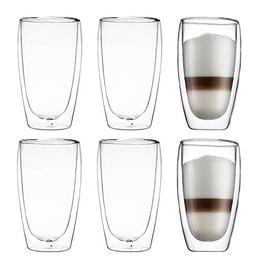 Bodum Pavina Double-wall Insulated 15-ounce Glasses -