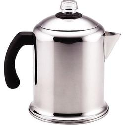8 Cup Percolator , Polished stainless steel for beauty and d