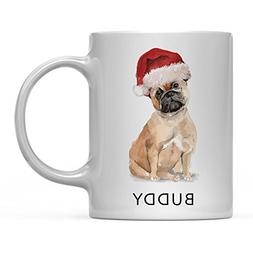 Andaz Press Personalized 11oz. Dog Coffee Mug Gift, French B