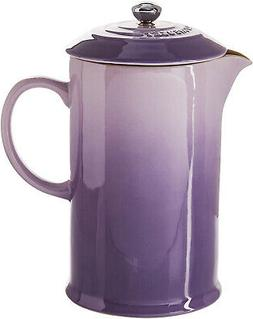 Le Creuset PG8200-10BP Stoneware French Press Coffee Maker,