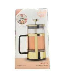 Piper Gold Press Pot by Pinky Up