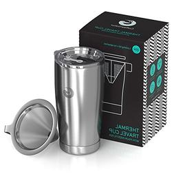Coffee Gator Pour Over Coffee Maker - All in One Paperless T