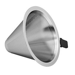Coffee Gator Micro-mesh Stainless Steel Coffee Filter - For