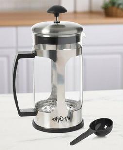 Mr. Coffee 1.2 Qt. Coffee Press should be Mr. Coffee French