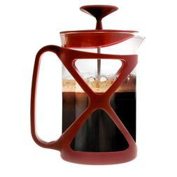 Primula Pcre2306dst Red Coffee Press Makes 6 Cup Borosilcate