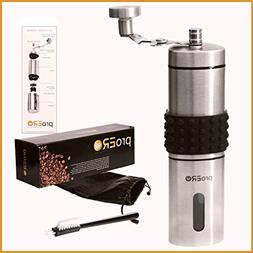 proERO Manual Coffee Grinder – Stainless Steel Coffee Hand