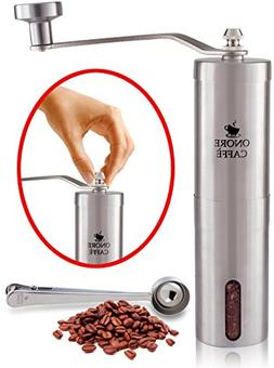 Heavy Duty - Premium Quality Stainless Steel Manual Coffee G