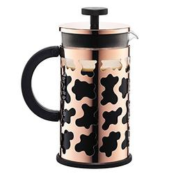 Bodum 8 Cup Sereno Coffee Maker, 34 oz, Copper