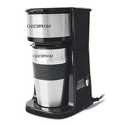 Ultimate 2-In-1 Single Cup Coffee Maker & 14oz Travel Thermo