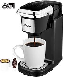 Aicok Single Serve Coffee Maker, Coffee Machine with Removab