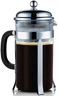 Francois et Mimi Single Wall Borosilicate Glass French Coffe
