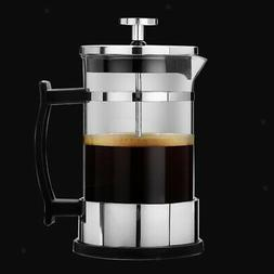 Stainless Classic French Press Cafetiere Coffee Maker 350ml