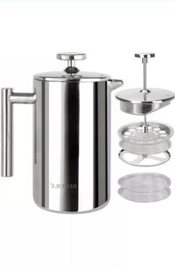 SECURA Stainless Steel 304 French Press Coffee Maker
