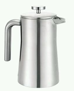 Francois et Mimi Stainless Steel Double Wall French Coffee P