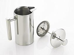 350ml Stainless Steel Double Wall Insulated Coffee Tea Maker