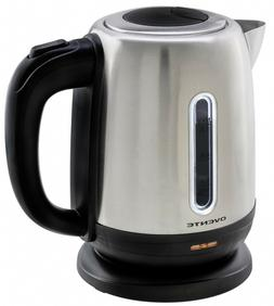 Ovente 1.2 Liter Stainless Steel Electric Cordless Tea Kettl