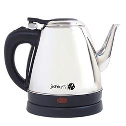 Small Stainless Steel Electric Kettle With Goose-Neck Style