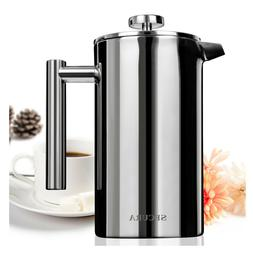 stainless steel french press coffee maker 18