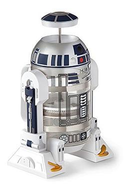 ThinkGeek Star Wars Coffee Press R2D2 Limited Edition 4 Cup