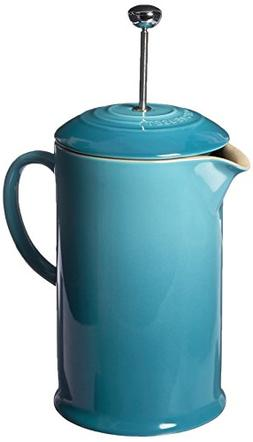 Stoneware 3.36 Cup French Press, Caribbean