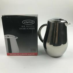 StrelingPro Stainless Double Wall French Coffee Press 8 Cup