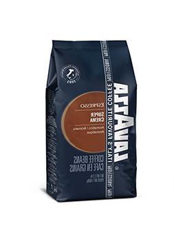 Lavazza Super Crema Espresso Beans - 2.2lb Bags