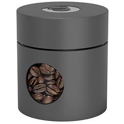 Coffee Gator Mini Travel Canister - Borosilicate Glass & Sta