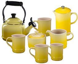 Le Creuset Tea & Coffee Set Soleil