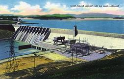 Tennessee - General View of the Douglas Dam on the French Br