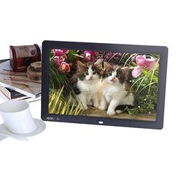 Andoer Digital Photo Picture Frame 12 inch HD TFT-LCD 1280 x