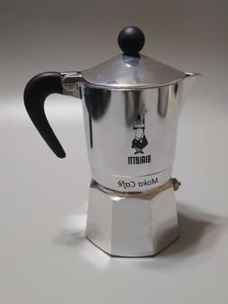 The Original Bialetti Moka Express 3 Cup Stovetop Coffee Esp
