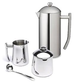 Frieling Ultimo 36 Oz Stainless Steel French Press, Cream &
