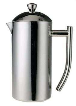 Frieling USA Double Wall polished Stainless Steel French Pre