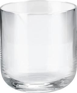 "Alessi""All-Time"" Water Tumblers in Crystalline Glass , Trans"